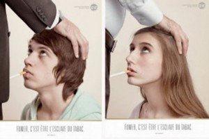 Quand la pub se tape l'affiche... 