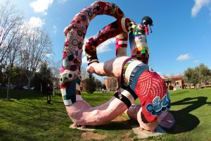 Du Yarn bombing pour le Carnaval